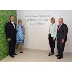 Esrick Dream Foundation naming donor group photo